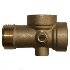 """Brass coupling laiton 5 ways 1"""""""