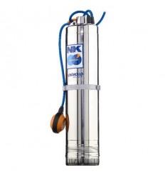 Pompe immergée puits (230V) Pedrollo NKm 4 avec flotteur