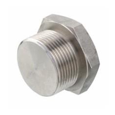 316L stainless steel hexagonal plug male (full model)