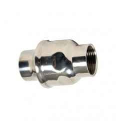 304 Stainless steel check valve stamped with spring FF