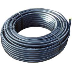 Tube PE80 AEP bande bleu Ø 40 x 3.7 mm - couronne de 50 m