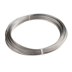 Câble inox 316 extra souple Ø4 - Ø6 - Vendu au mètre