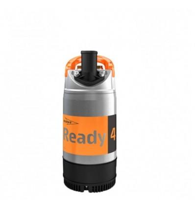 Pompe d'intervention chantier FLYGT READY pour le pompage d'eaux chargées en sable, terre