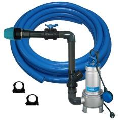 Kit pompe de relevage FLYGT Delinox DXVM 50 - PVC souple