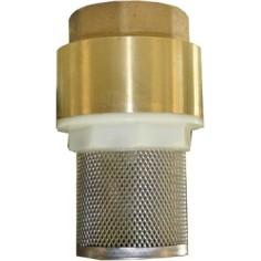 Clapet crépine laiton-inox universel