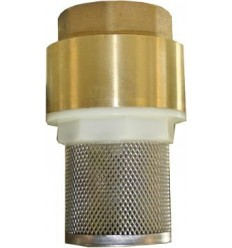 Universal brass/stainless steel check valve stainer