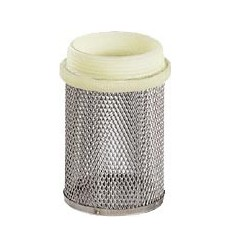 Stainless steel strainer male thread