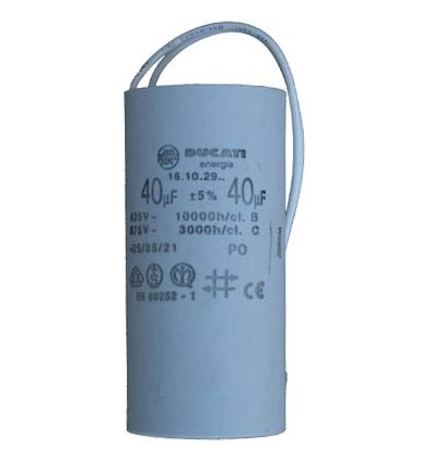 Condensateur à fils 450V