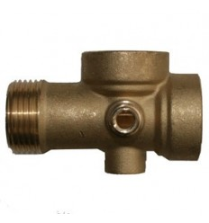 Brass coupling laiton 5 ways 1""