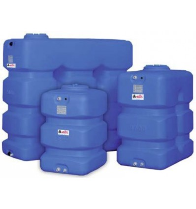 Cuve à eau alimentaire en polyéthylène posé horizontale 300 à 5000 L