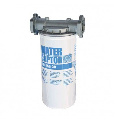 Kit filtre 150l/min séparateur d'eau pour gasoil pompé