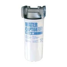 Filtre séparateur d'eau 70l/min avec cartouche 30µ