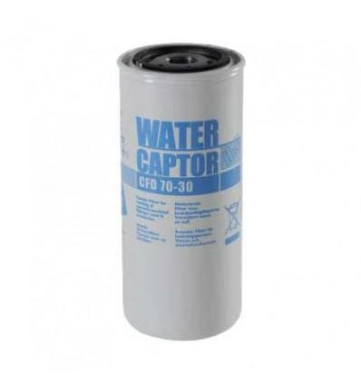Filtre séparateur d'eau débit 70l/min passage 30µ PIUSI
