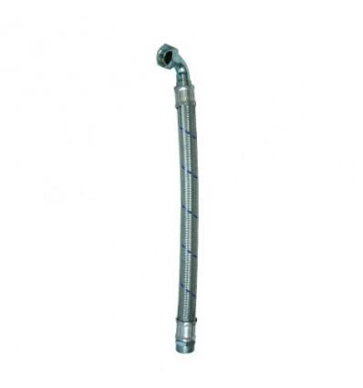 """Flexible acier coudé M/F 1"""""""