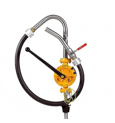 Pompe manuelle semi-rotative ATEX (solvants)