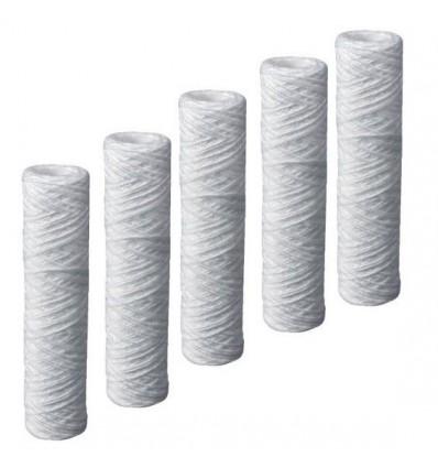 "5 Cartouches filtrantes bobinnées 5µ pour filtre 10"" (810S5)"