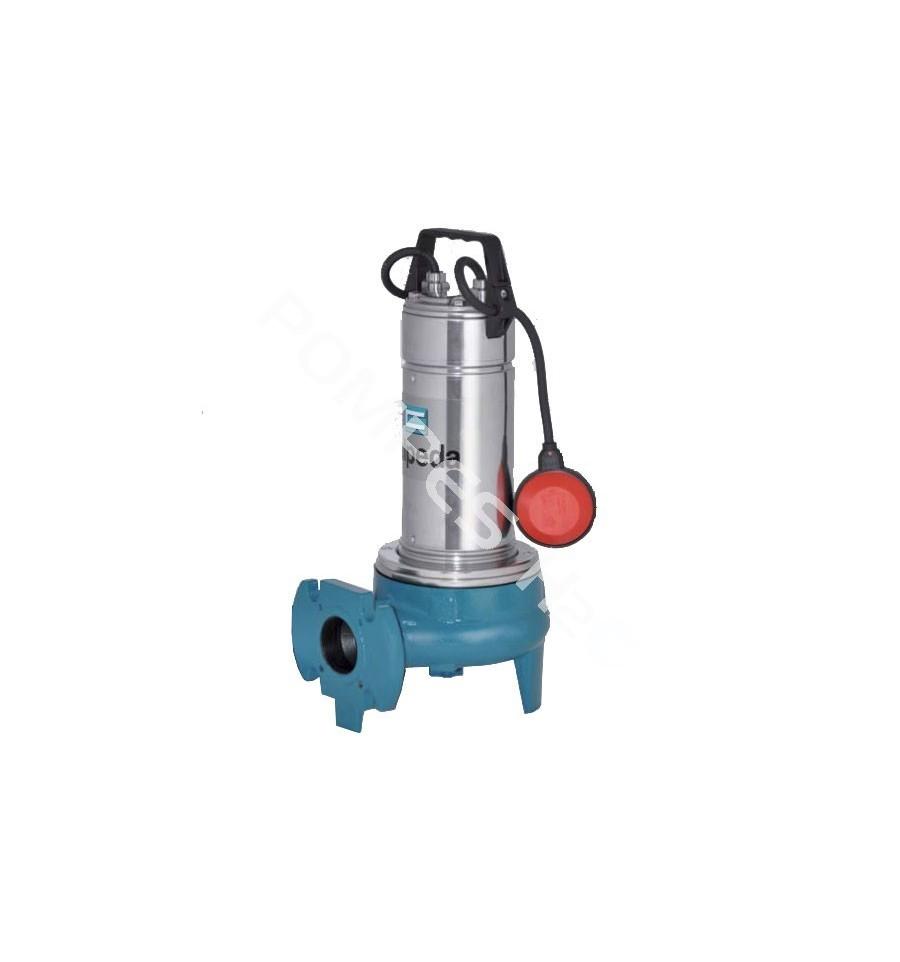 Pompe eaux charg es roue vortex kw dn50 calpeda gqv 50 11 - Pompe de relevage eaux chargees ...