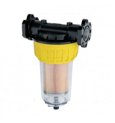 Filtre séparateur d'eau avec cartouche 35µ CLEAR CAPTOR