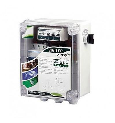 Coffret de commande & protection (230 - 400 V) Vigilec Zero +