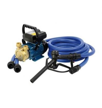 Pompe équipée transfert (eau, eau de mer, huile, gasoil) - EEN (230V)