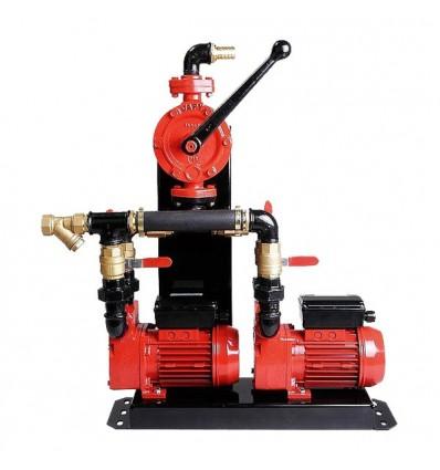 Groupe de pompage Gasoil & Fuel avec pompe manuel Japy