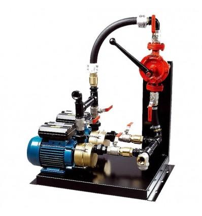 Groupe de pompage 1.50 Kw Gasoil & Fuel avec pompe manuelle Japy