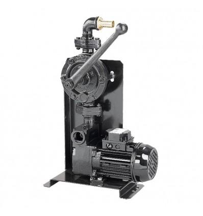 Pompe gasoil électrique 0.37 Kw et manuelle Japy