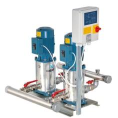 Surpresseur 2 pompes triphasées, pompes verticales MXVB 400V