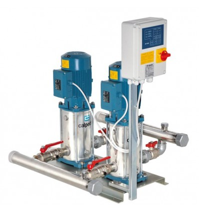 Surpresseur 2 pompes verticales MXVB 400V