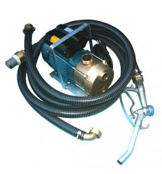 Pompe équipée transfert gasoil - fuel) 0.75 Kw