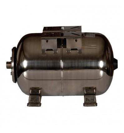 Réservoir à vessie horizontal inox 304 GITRAL 10 Bar (25-60-100L)