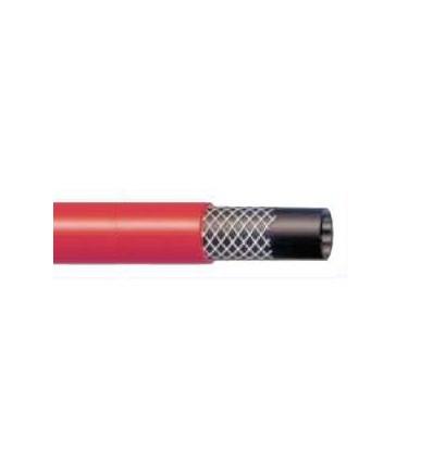Bobine de 50m de tube SBR renforcé d'une trame textile - Pour le transport de l'eau - Pression maxi 6 bar