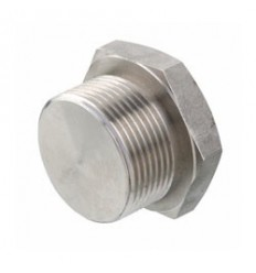 316L stainless steel hexagonal plug male (full model)