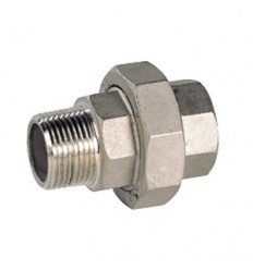 316L stainless steel union M/F