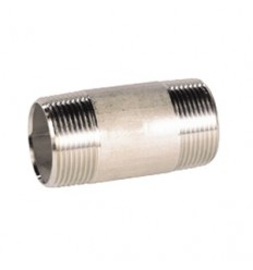 316L stainless steel tube nipple M/M