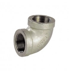 316L stainless steel 90° F/F elbow threaded