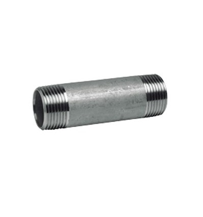 Mamelon tube fileté standard inox 316L