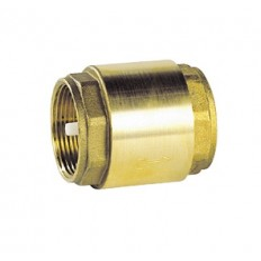 Universal brass check valve