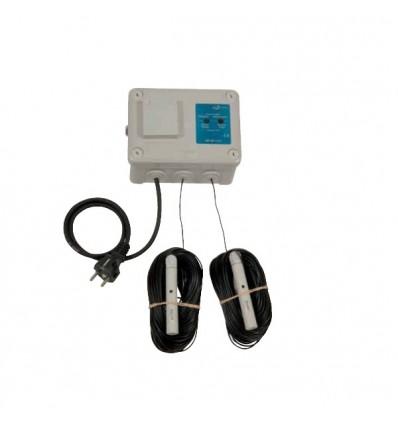 Coffret de commande pompe eaux claires ou peu chargées