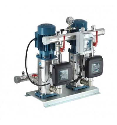 Surpresseur à vitesse variable 2 pompes MXVB  0 à 9 m3/h