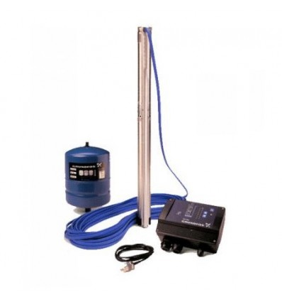"Pompe forage inox 3"" avec variateur vitesse SQE System"