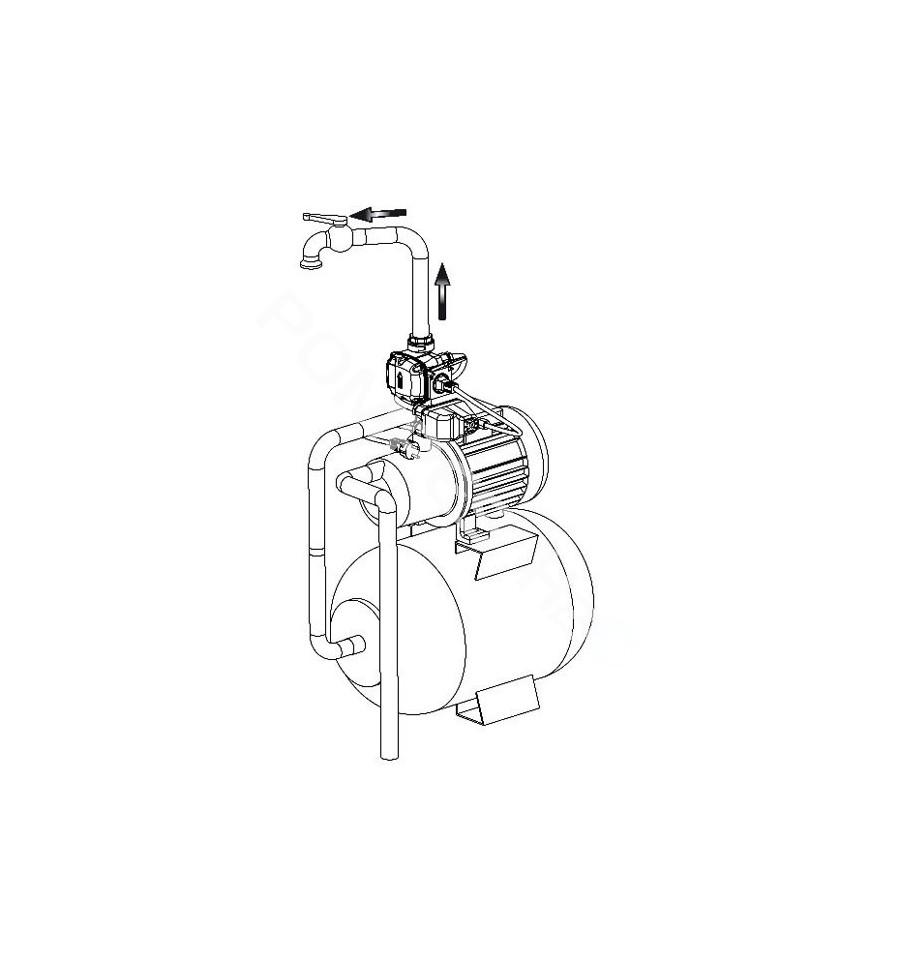 Pressostat lectronique pompe monophas spin - Pressostat manque d eau ...