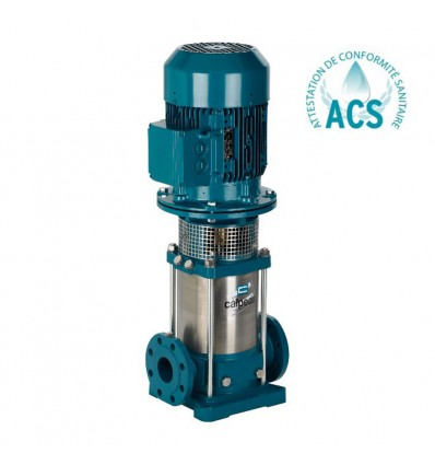 Pompe multicellulaire verticale inox brides en ligne (16 m3/h)
