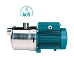 Pompe multicellulaire horizontale en inox 304 -  MXH 8 (8 m3/h - 400V)