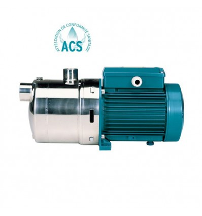 Pompe multicellulaire horizontale (inox 304) MXH 4 m3/h (230V)