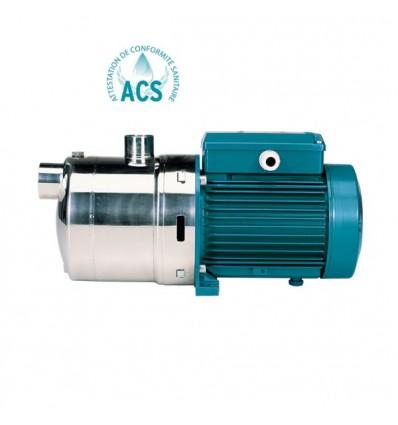 Pompe multicellulaire horizontale en inox 316L - MXH 2 (2 m3/h - 400V)