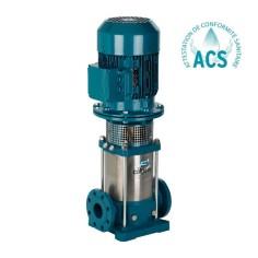 Pompe multicellulaire verticale inox brides en ligne (48 m3/h)
