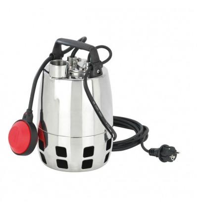 Pompe de drainage inox pour eau propre ou chargée GXV