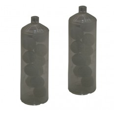 Lôt de 2 cartouches de recharge polyphosphate pour filtre MINIC