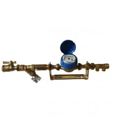 Kit compteur divisionnaire eau froide